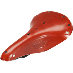 Brooks B17 Standard Classic Saddle Made Of Corn Leather Herre red
